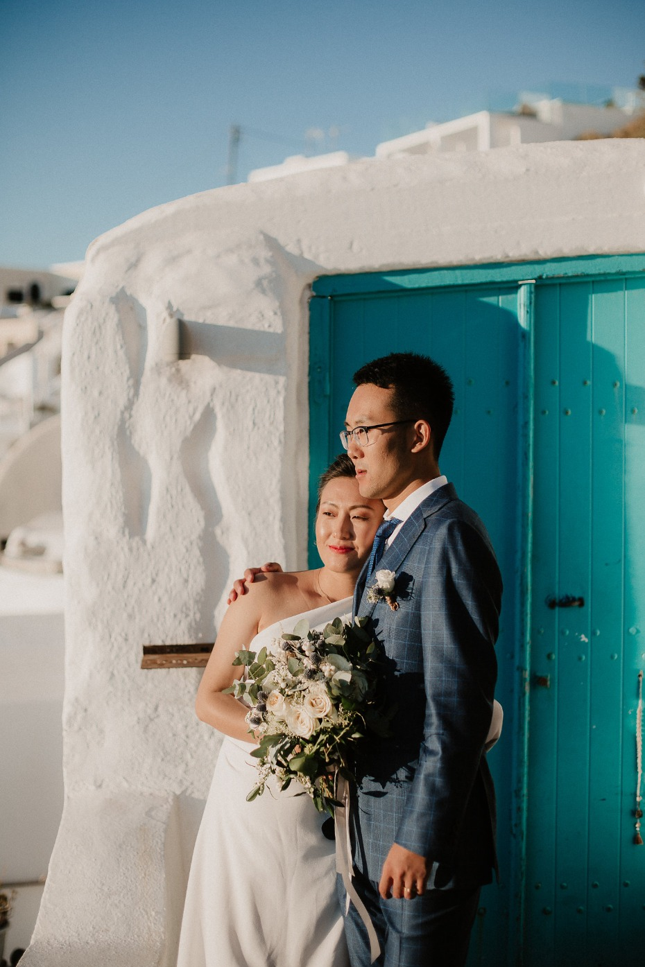 Beautiful wedding in Greece