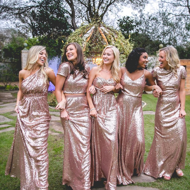 The most sparkling mix & match styles for the most beautiful bridesmaids.✨👯♀️