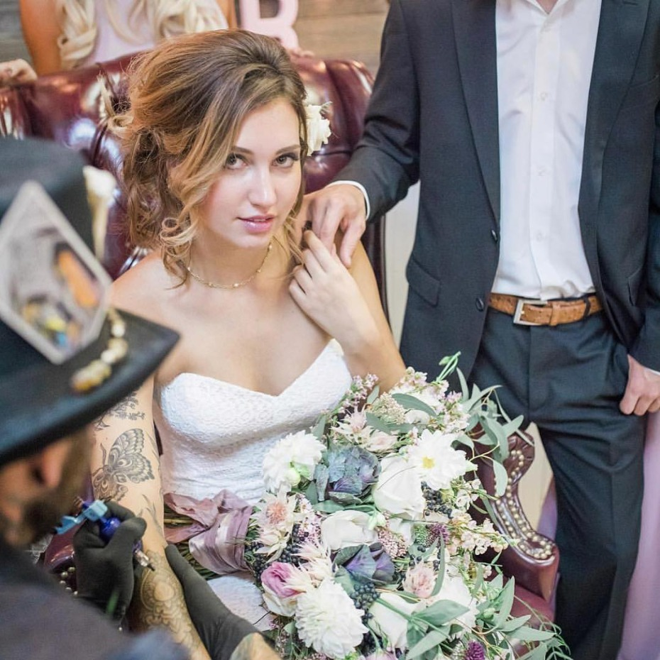The Best Wedding Blog Ever By Marilyn S: Keepsake Tattoos Might Just Be The Best Wedding Favor Ever