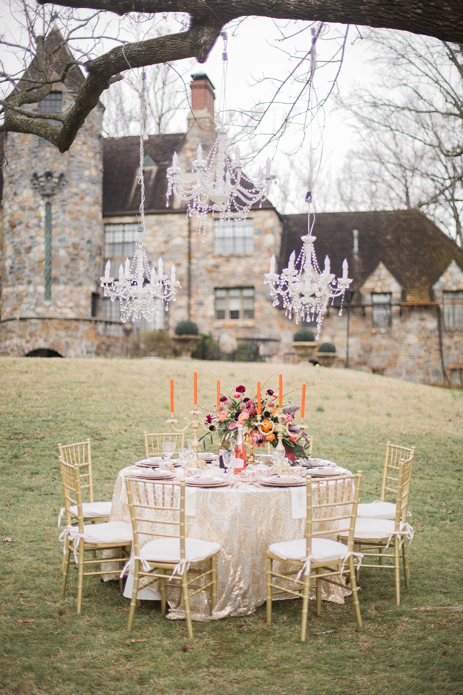 Regal bohemian wedding ideas