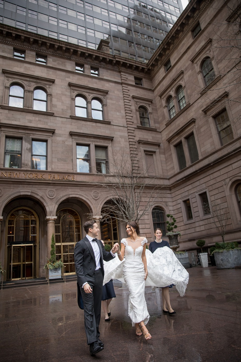 how to have a royal style wedding in New York City