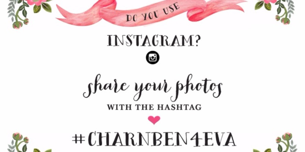 5 Tips to Make Sure Your Wedding Hashtag is On Point