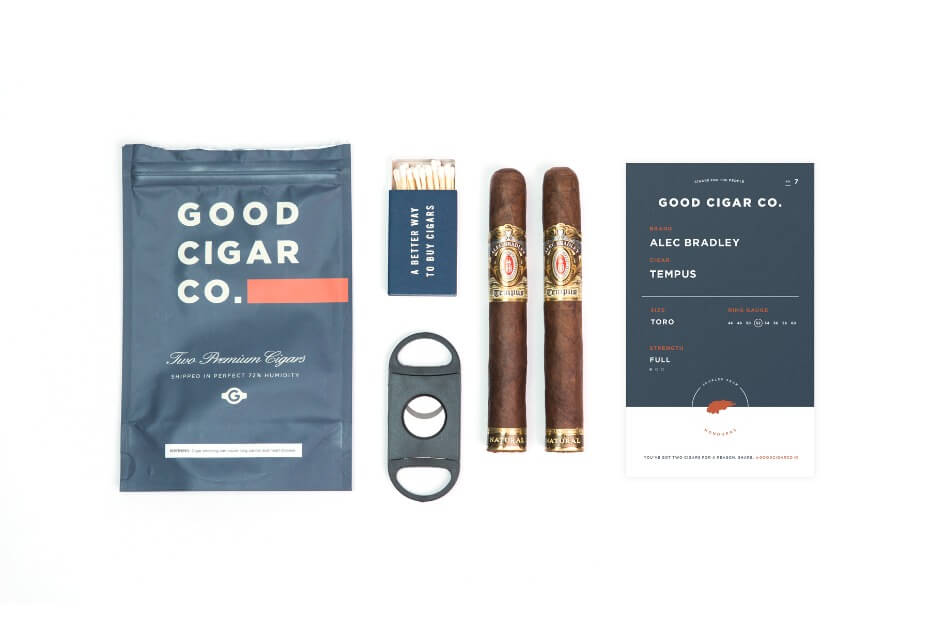 Good Cigar Co. Groomsmen Gift Pack