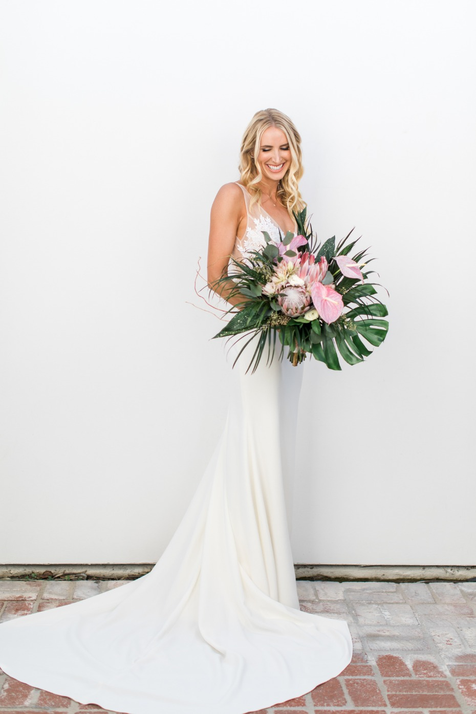 Elegant California bride