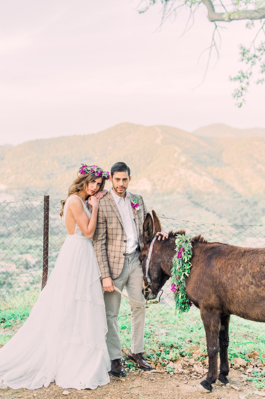 Traditional boho wedding inspiration