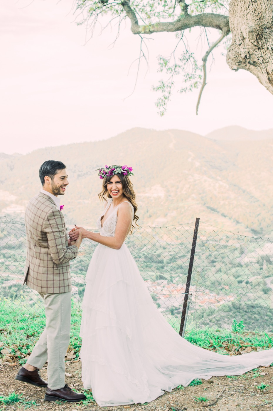 Boho wedding ideas from the Apesia hills