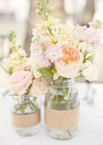 15 Mason Jar Wedding Ideas