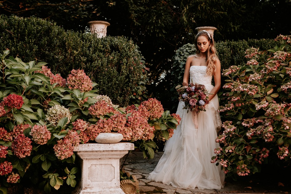 fall wedding in Italy