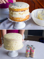 Decorate Your Own Confetti Cake