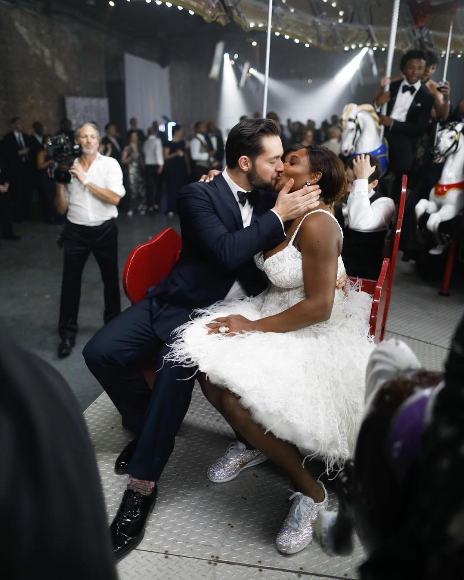 Serena Williams Wedding After Party