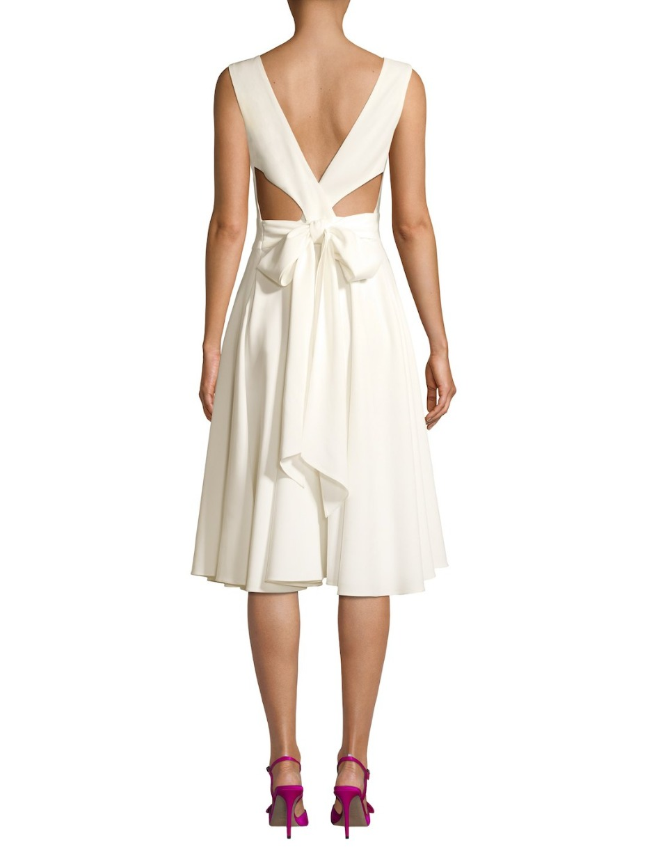 SJP X Gilt Bridal Collection Bowback Dress