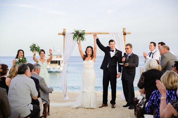 A Spectacular Mexico Destination Wedding For $45k