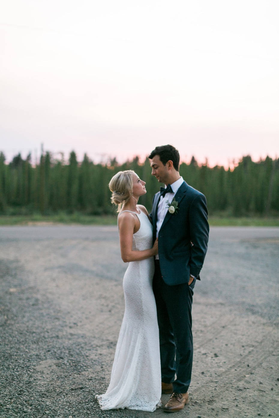 Gorgeous hops farm  wedding in Oregon