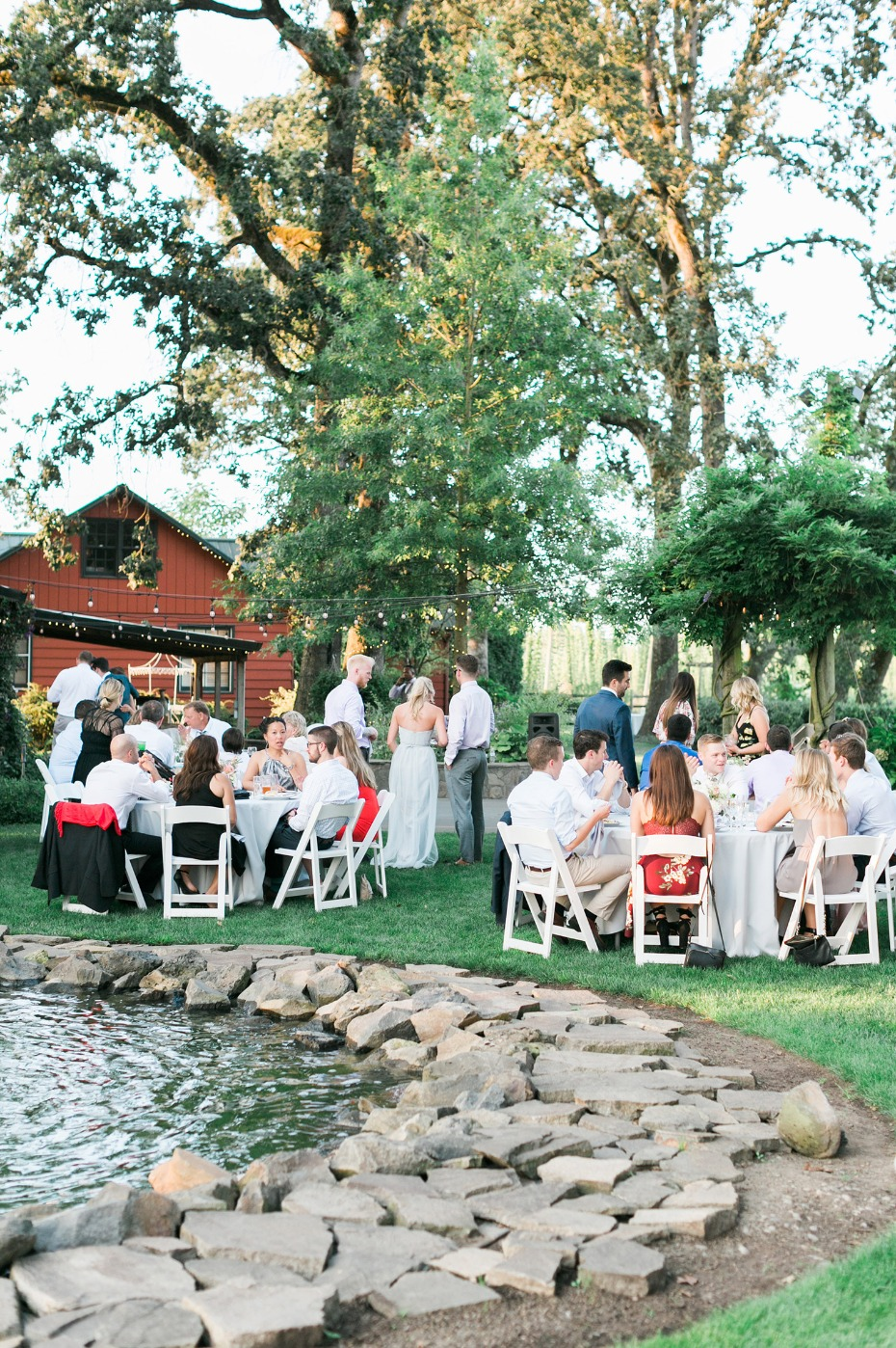 Summer wedding at a Hops farm in Oregon