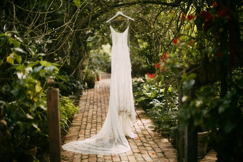 elegant wedding dress from Rue De Seine