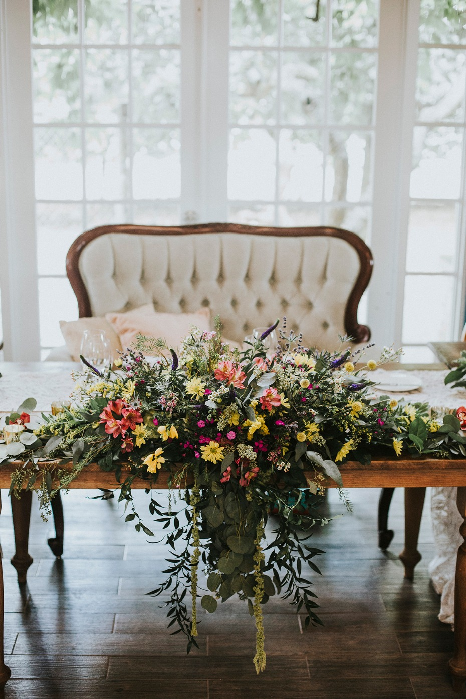 wedding sweetheart table idea