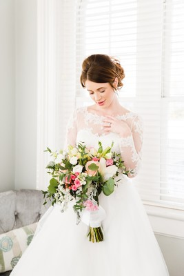 A Classic Pastel Wedding At A Historic Mansion