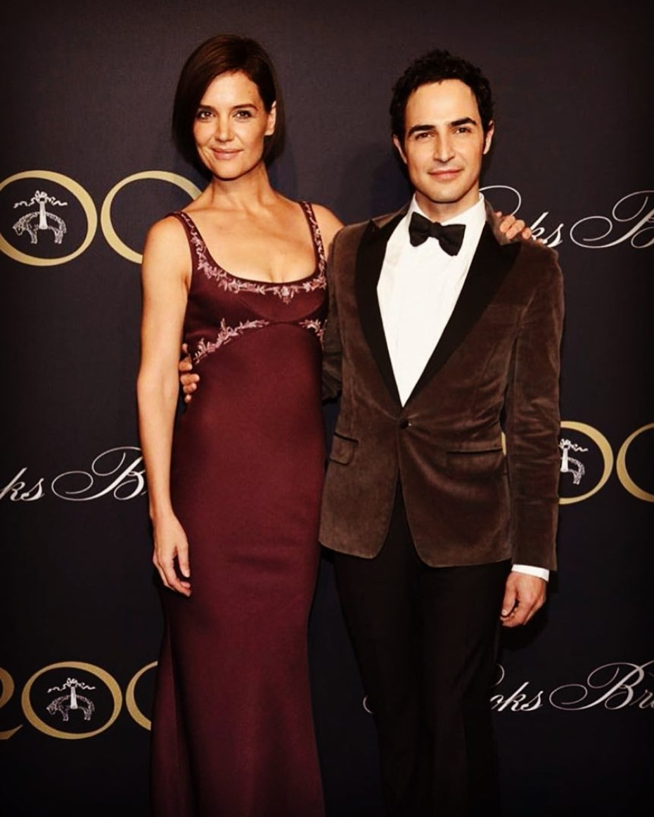 Katie Holmes and Zac Posen Brooks Brothers Event
