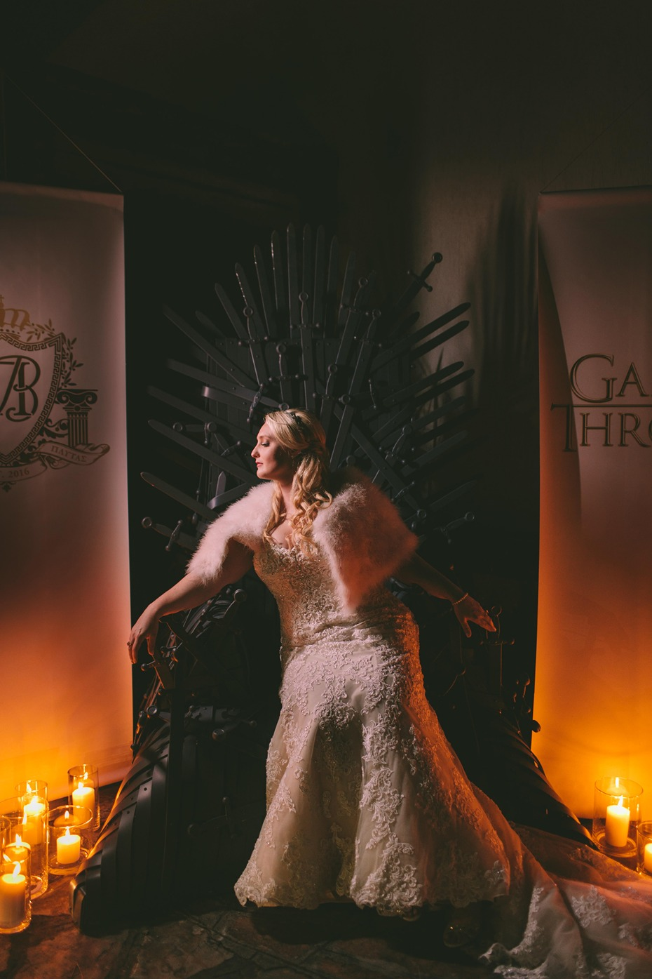 Game of Thrones photo booth