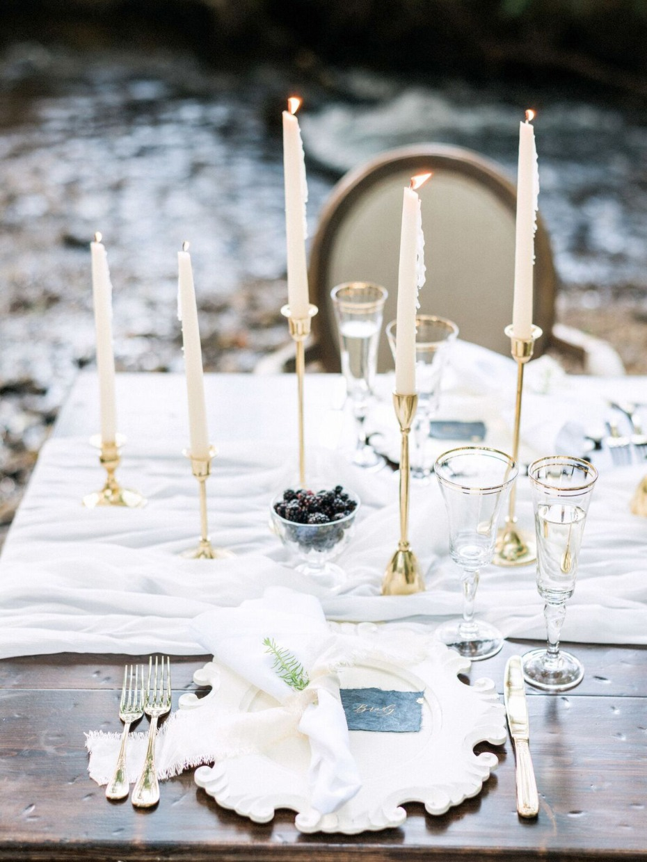 romantic wedding table idea