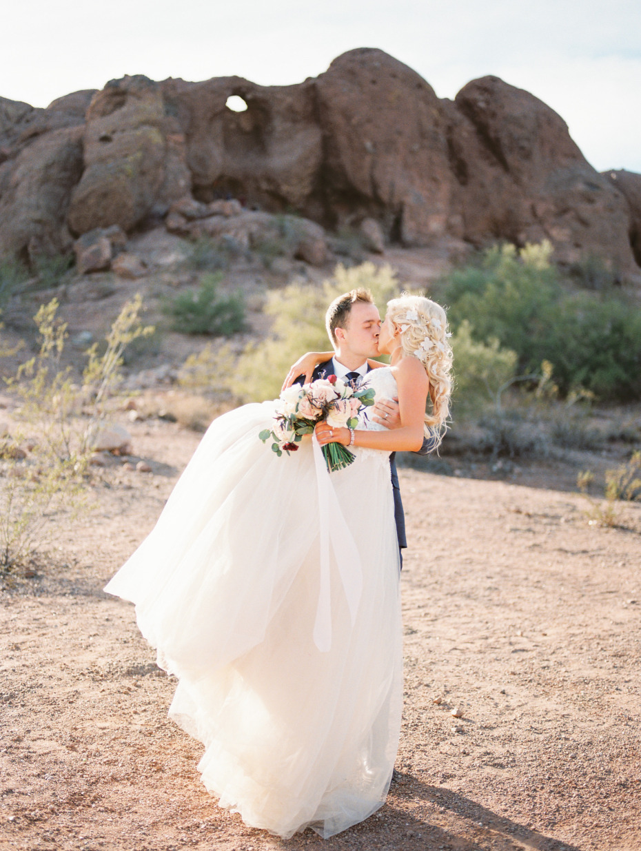 Beautiful wedding in Arizona