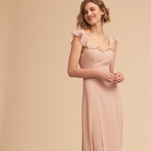 BHLDN Rose Diana Dress