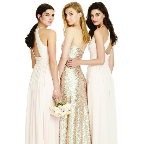 The Dessy Group Sequin Bridesmaid Dresses