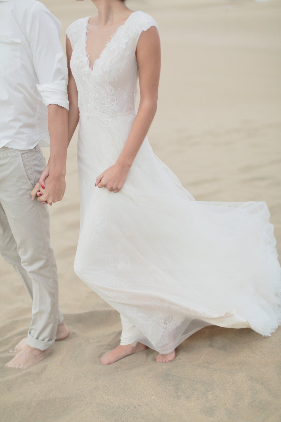 Beautiful lace wedding dress from Jurgita Bridal