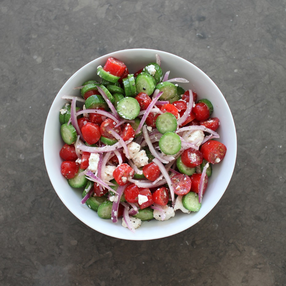 You'll Want Your Greek Salad Tossed