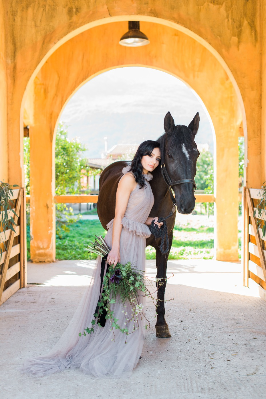 Modern western wedding inspiration