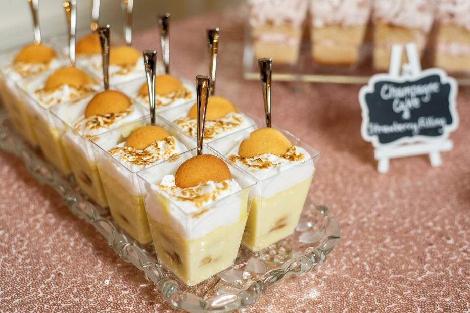 wedding pudding
