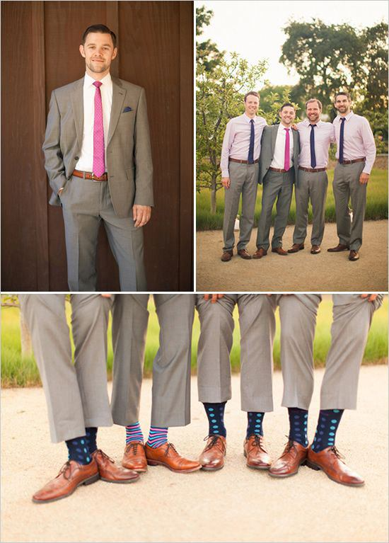 Grey pants brown shoes color socks style guru fashion for What color shoes with navy dress for wedding