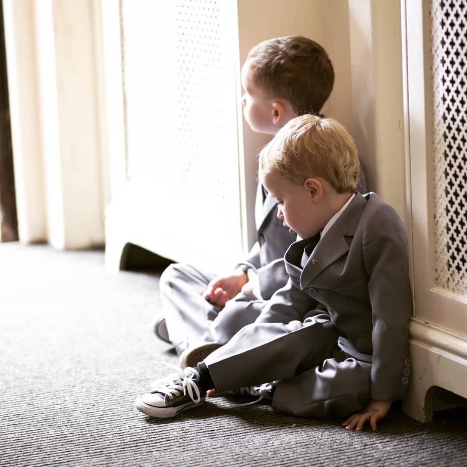 Ring Bearers at Wedding