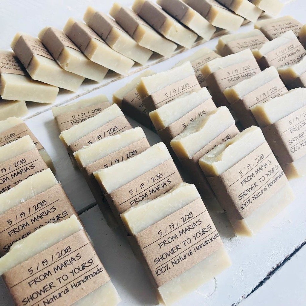 Soap favors and more soap favors today! #weddingseason