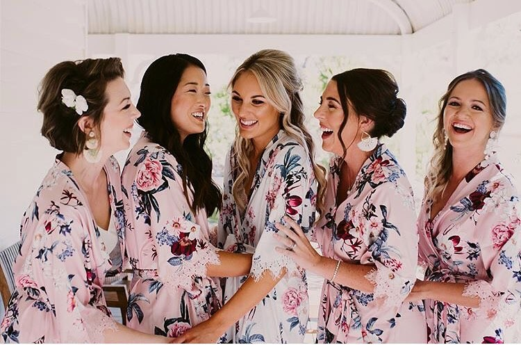 Stunning #LeRose bridal party looking oh so stunning in
