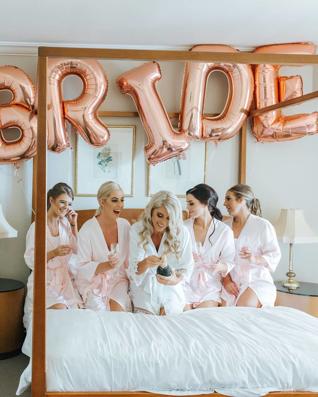 Bride squad goals / #LeRose keepsakes make capturing moments