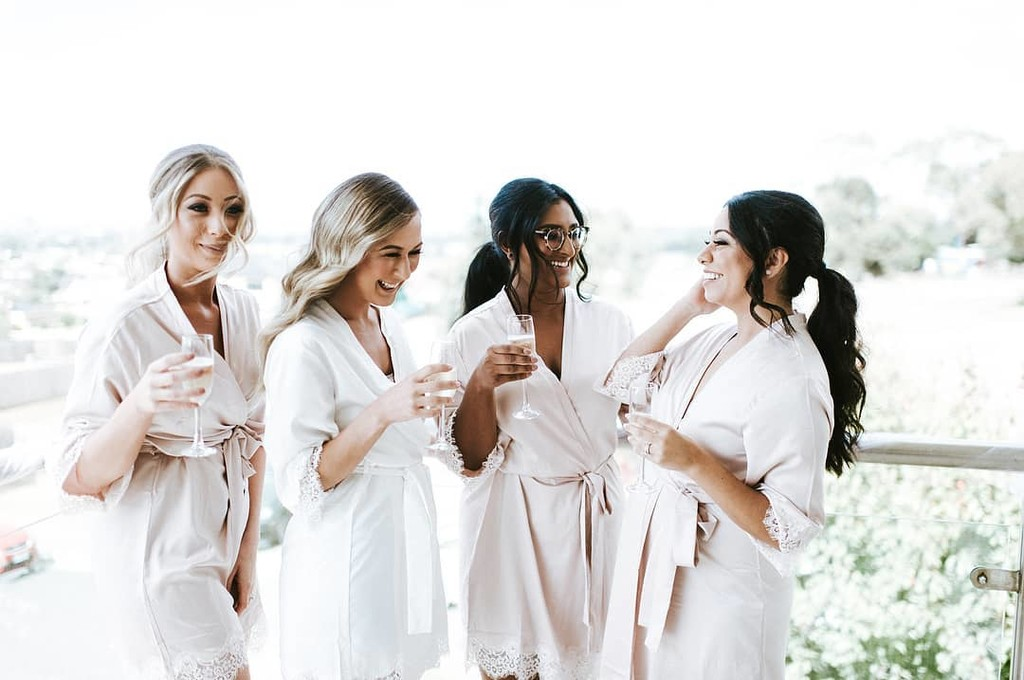 Bride Tribe ✨how beautiful does #LeRose Bride Michelle
