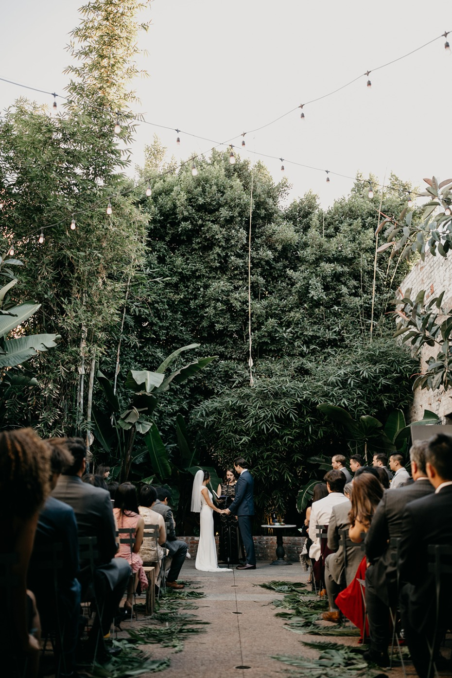 Modern ceremony in LA
