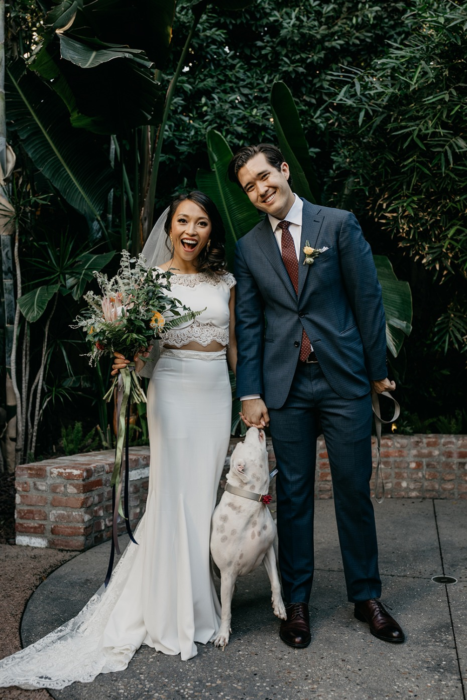 Modern wedding in LA