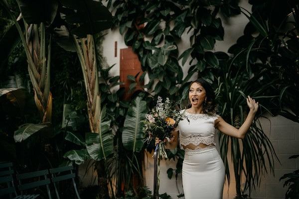 A Fun and Modern Wedding in Downtown LA