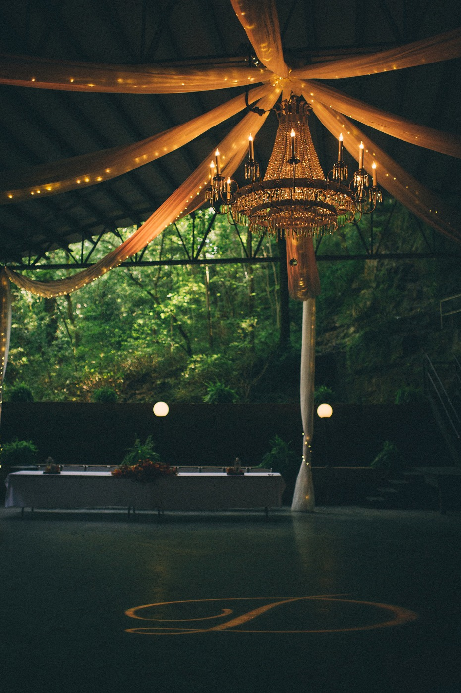 Beautiful reception at Lost River Cave