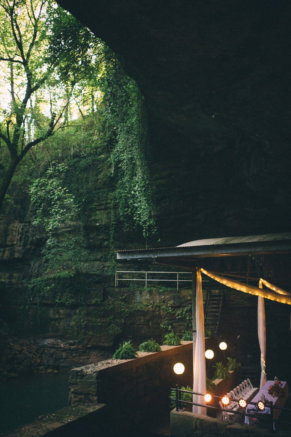 Get married in a CAVE