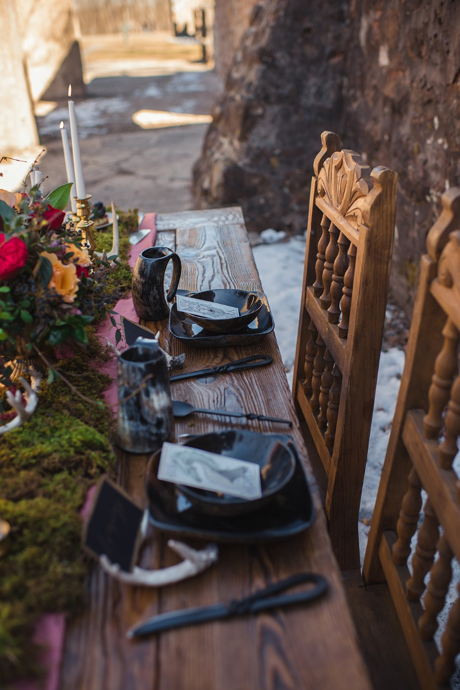 wedding table ideas for game of thrones fans