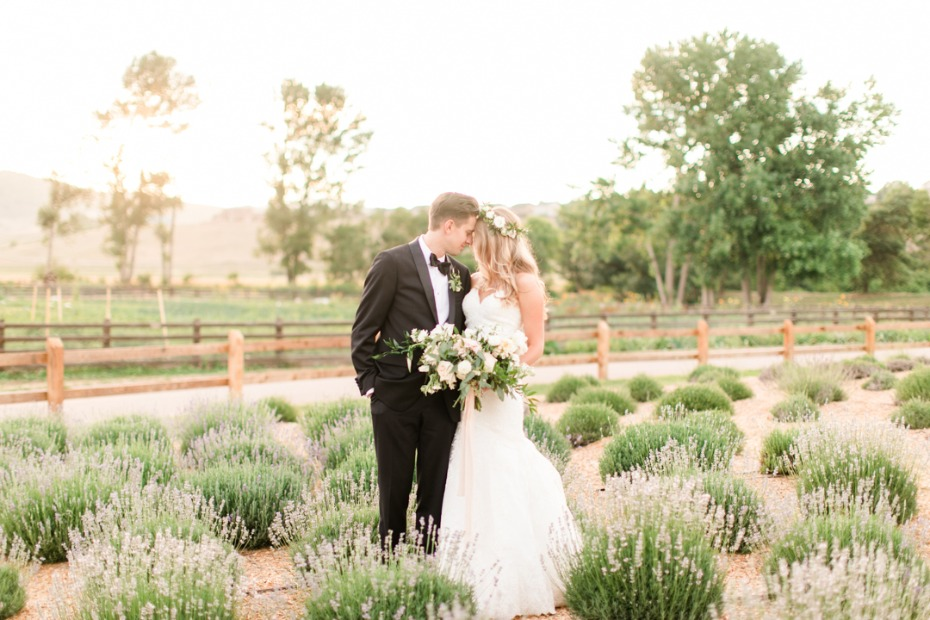 Elegant wedding at Denver Botanic Gardens