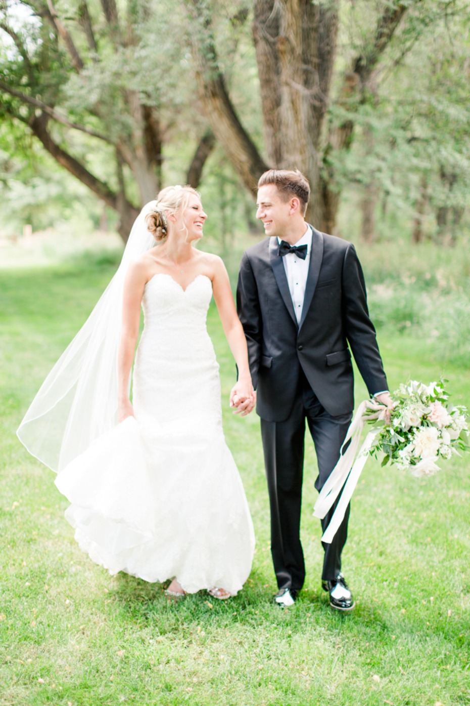 Garden wedding at Denver Botanic Gardens