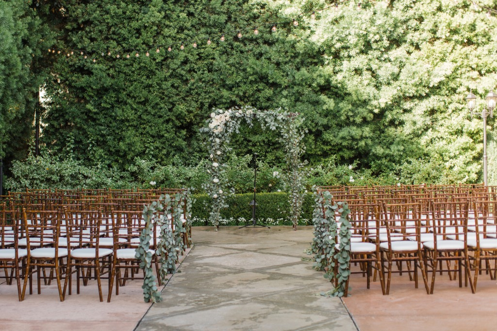 Gorgeous Ceremony at the Franciscan Gardens