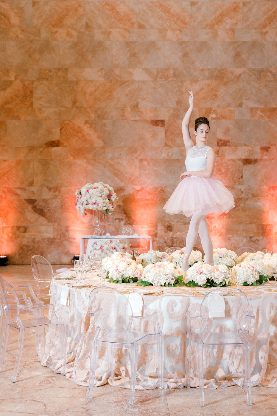 Royal ballerina wedding ideas