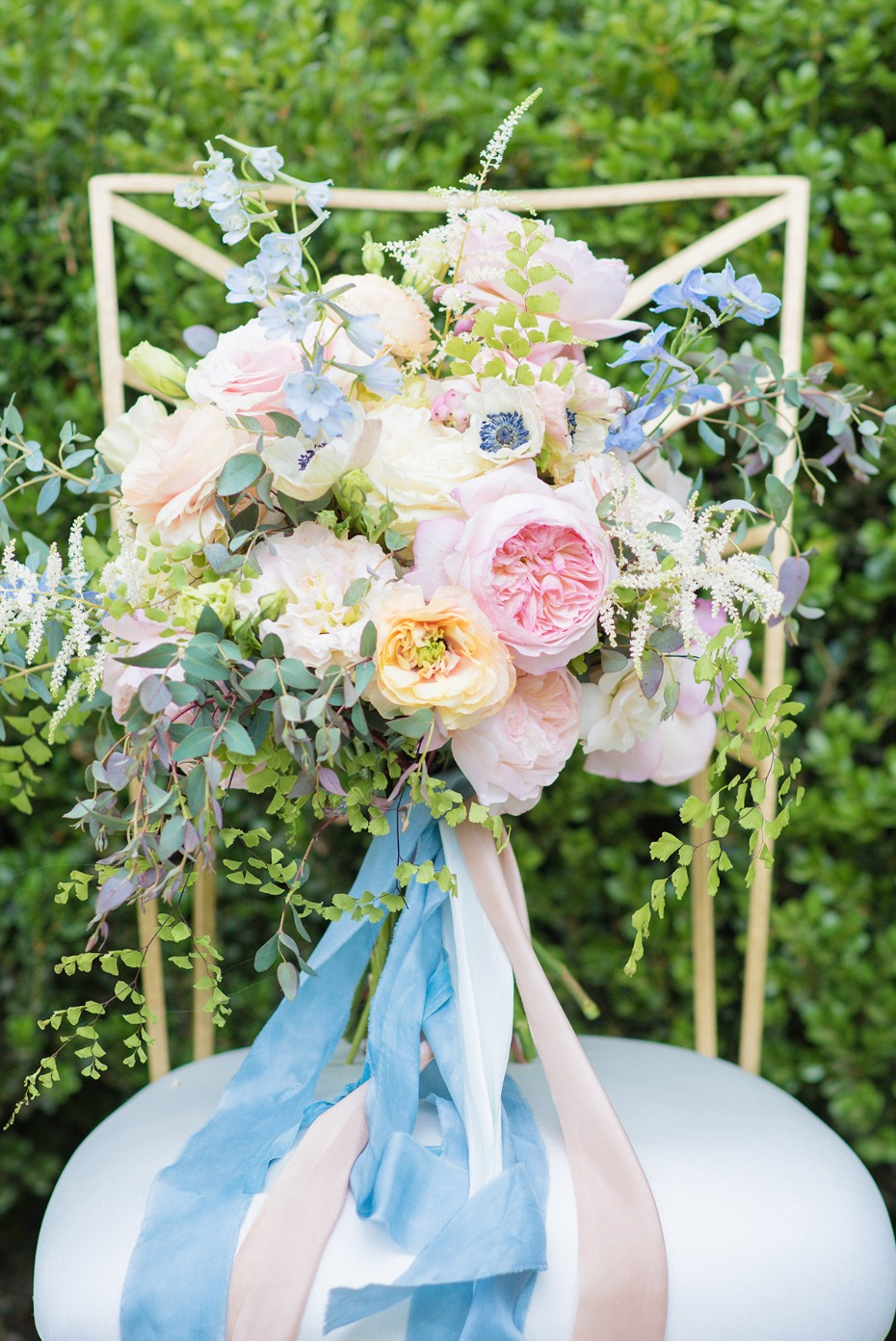 perfect pastel wedding bouquet