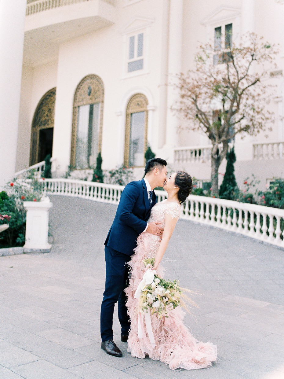 Destination wedding inspiration from Vietnam