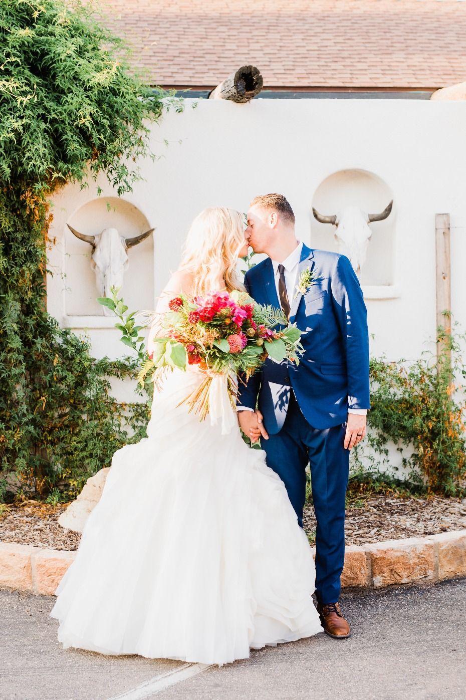 Stylish Alamo Motel wedding